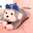 Hot water bottle charging explosion-proof electric heating treasure plush cute electric heating treasure warm water bag rechargeable female hand warmer to warm your belly