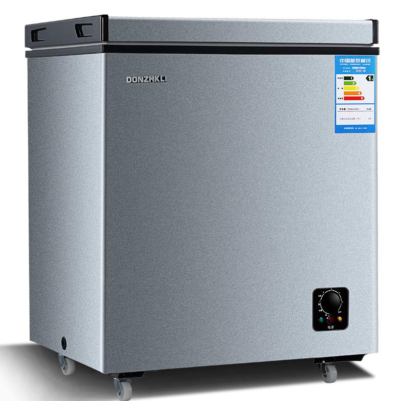 升 139 家用小冰柜小型迷你冷藏冷冻电冰柜卧式冷柜冷冻柜冰柜商用