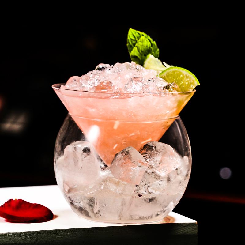 大使系列玻璃杯 无铅水晶分子鸡尾酒杯 创意酒杯 酒吧酒具 特饮杯