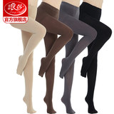Langsha stockings female spring and autumn models thick pantyhose thin section anti-hook meat color light leg leggings nude artifact winter