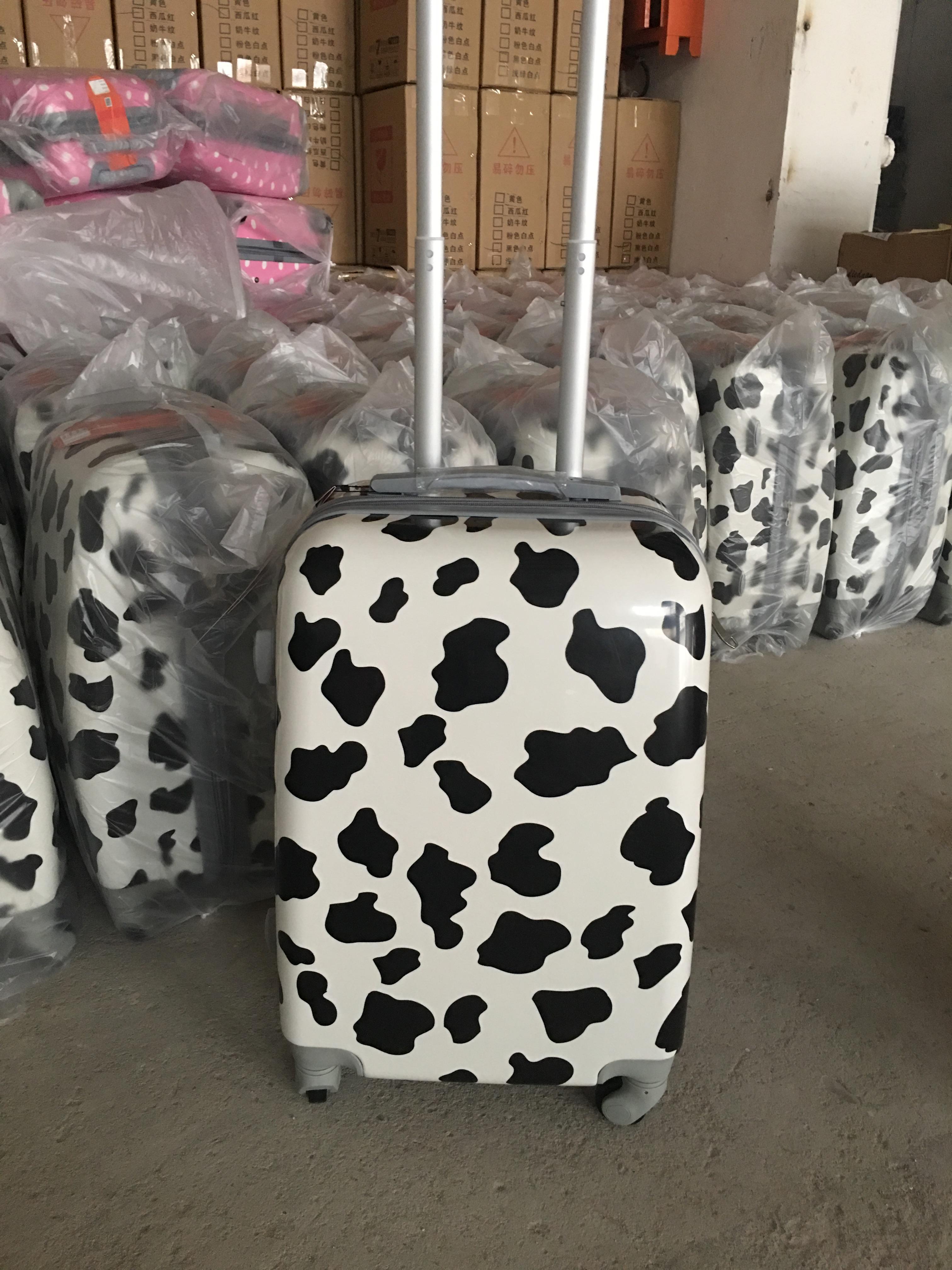 寸 22 18 16 韩版可爱波点行李箱女生旅行箱万向轮拉杆箱登机箱卡通