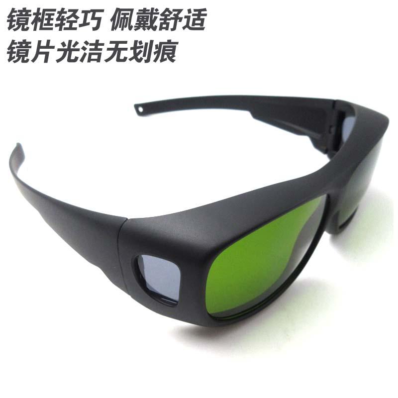 新升级打标机雕刻机电焊防激光辐射眼镜1064nm专用一体护目镜包邮