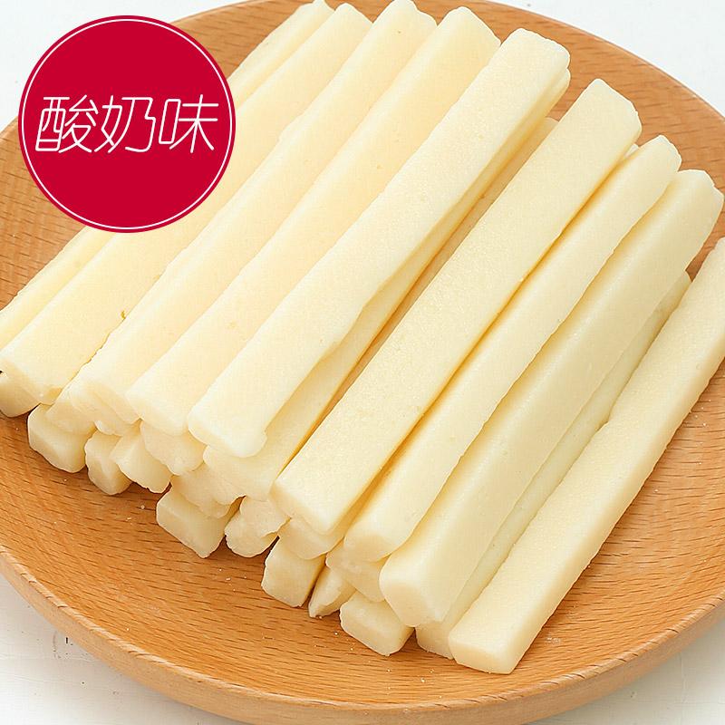 奶疙瘩奶泡独立包装儿童奶酪条包邮 骄子牧场原味绿条 牛奶条