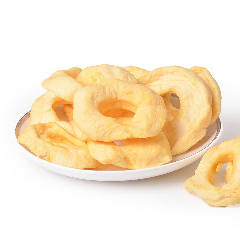 软口感不加糖无添加栖霞苹果干80g*2包烟台苹果圈软烤苹果干不脆