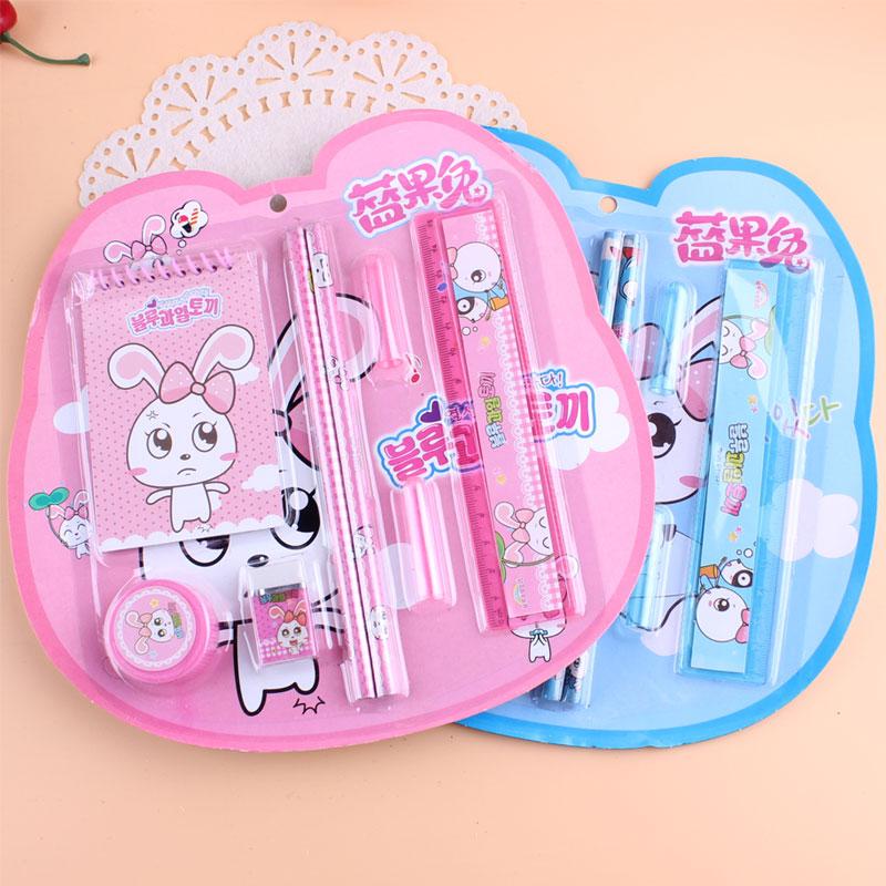 文具套装批发女生礼盒创意儿童礼物笔盒小学生奖品学习用品幼儿园