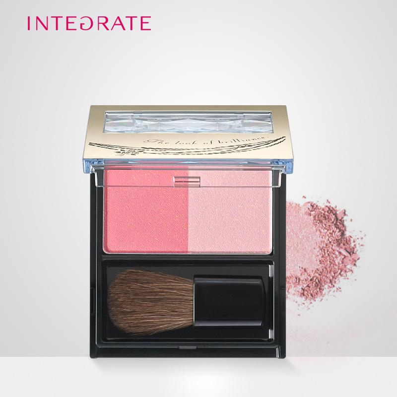 資生堂 INTEGRATE腮紅PK210氣色粉3.5g裸妝定妝修容彩妝官方正品