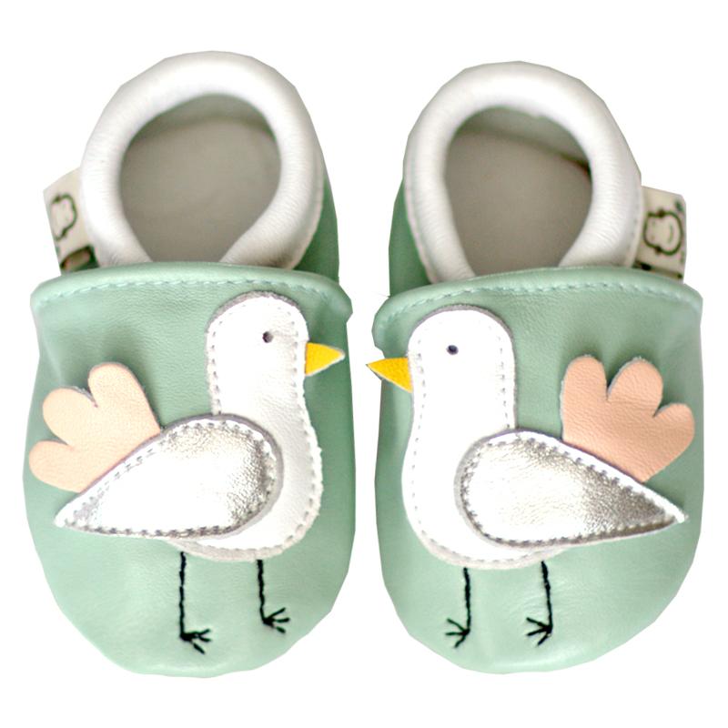 爆款男女宝宝羊皮鞋防滑学步鞋真皮鞋婴儿软底鞋不掉鞋2双包邮0-3