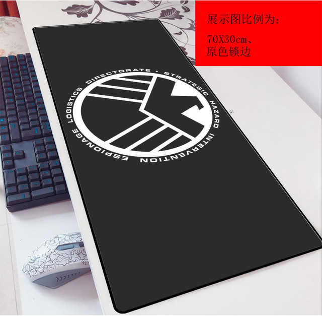 Mount Mount LOGO Cartoon Game 3mm Mouse Cushion Super 90x40 Anime Laptop Keyboard Conditioning