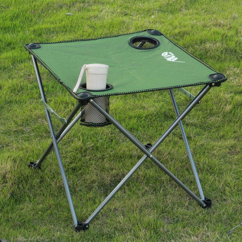 南落迷你布桌登山野营旅行野餐休闲沙滩桌户外便携折叠桌椅钓鱼桌