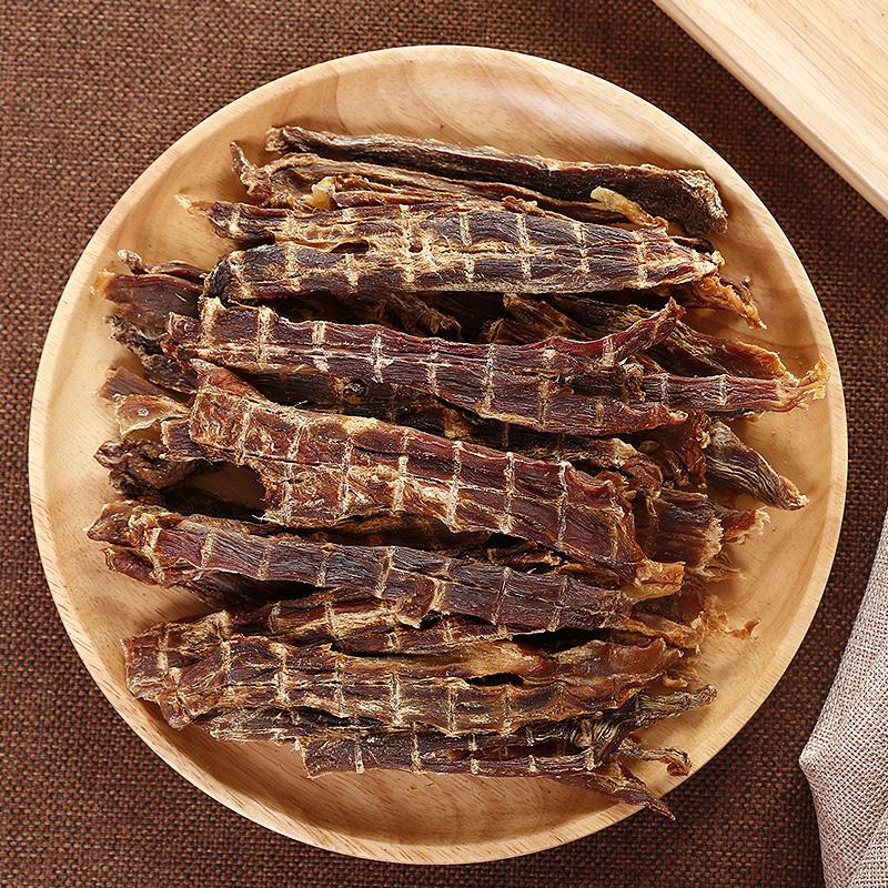 酒鬼一家手工自制零食鸭肉干大包清热去火磨牙狗健康零食