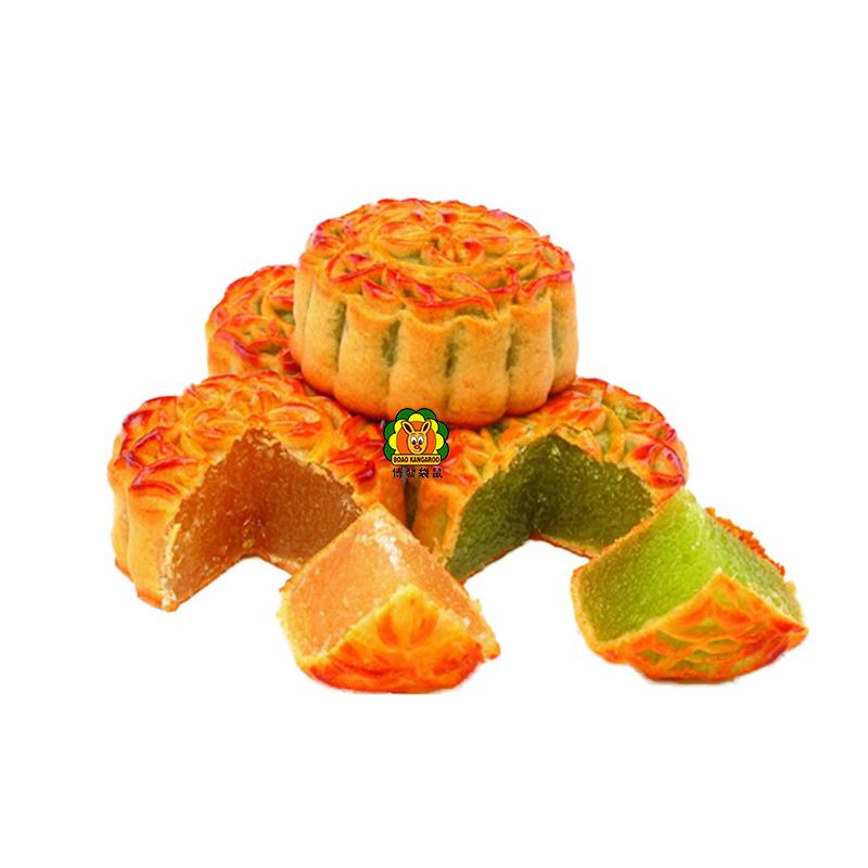 迷你小月饼散装多口味水果味哈密瓜凤梨味中秋混搭组合装2斤每份