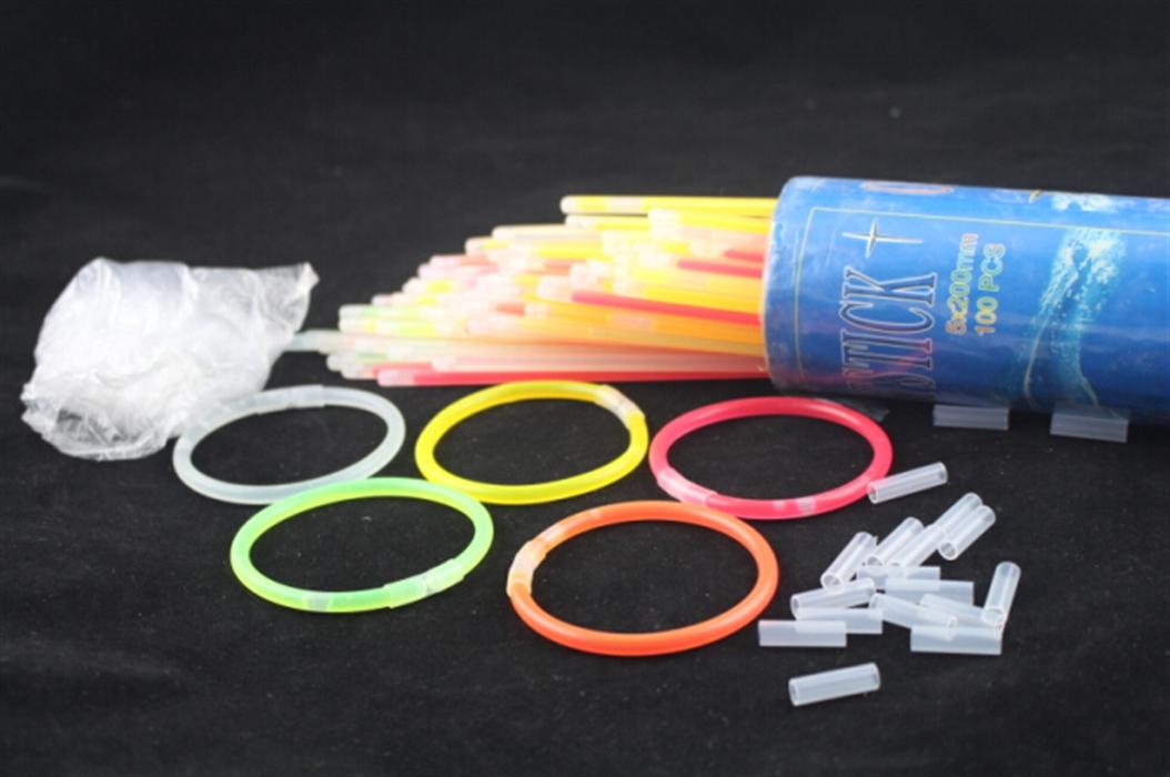一次性荧光棒荧光手镯荧光玩具演唱会荧光棒荧光手镯手环萤光棒