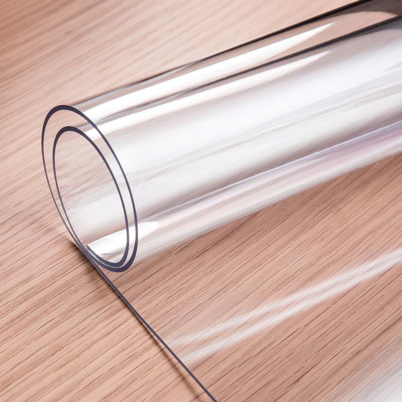 无味软玻璃塑料PVC桌布防水防烫防油免洗餐桌垫透明茶几垫水晶板