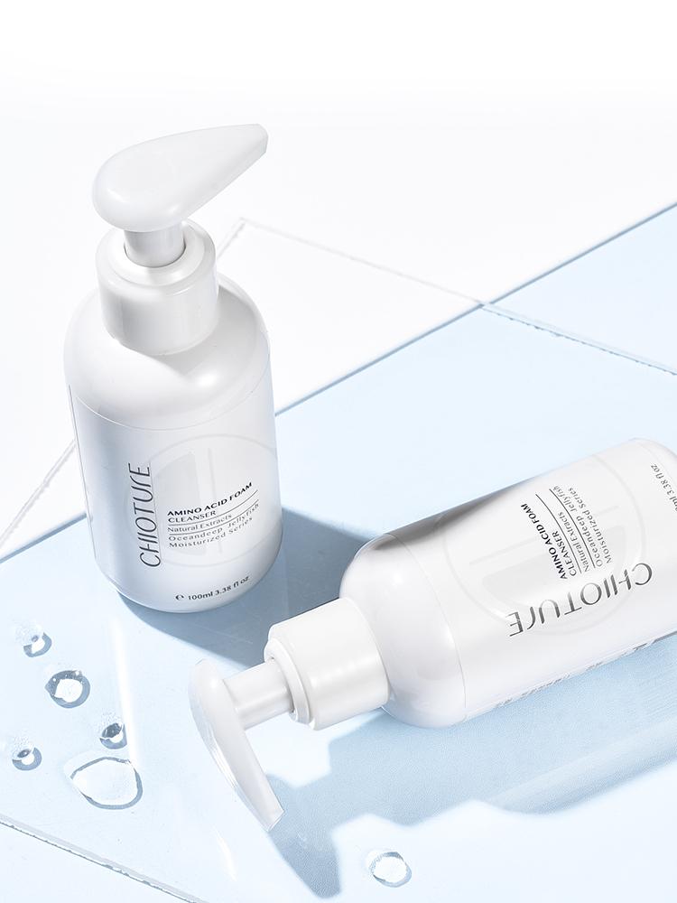 洁面乳保湿深入清洁毛孔女学生 稚优泉小奶盖氨基酸洗面奶 瓶 2