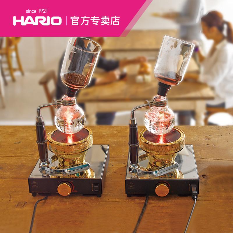 HARIO日本原裝進口虹吸壺 虹吸賽風式咖啡壺套裝家用咖啡器具TCA