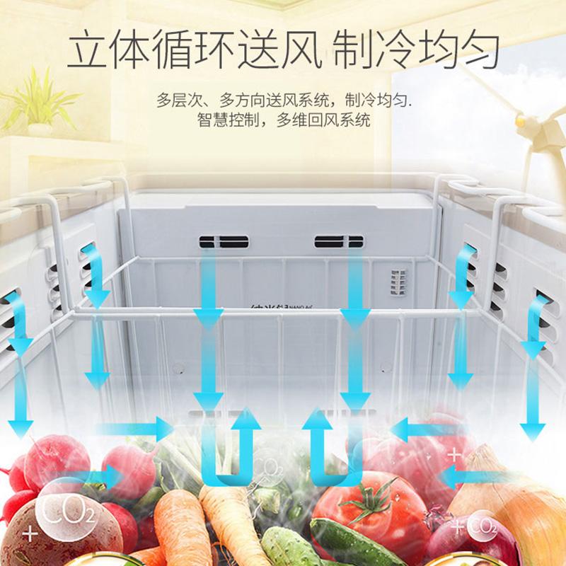 风冷无霜家用小型低温电脑控温冷冻柜冰柜冰箱 122WD BD BC 澳柯玛