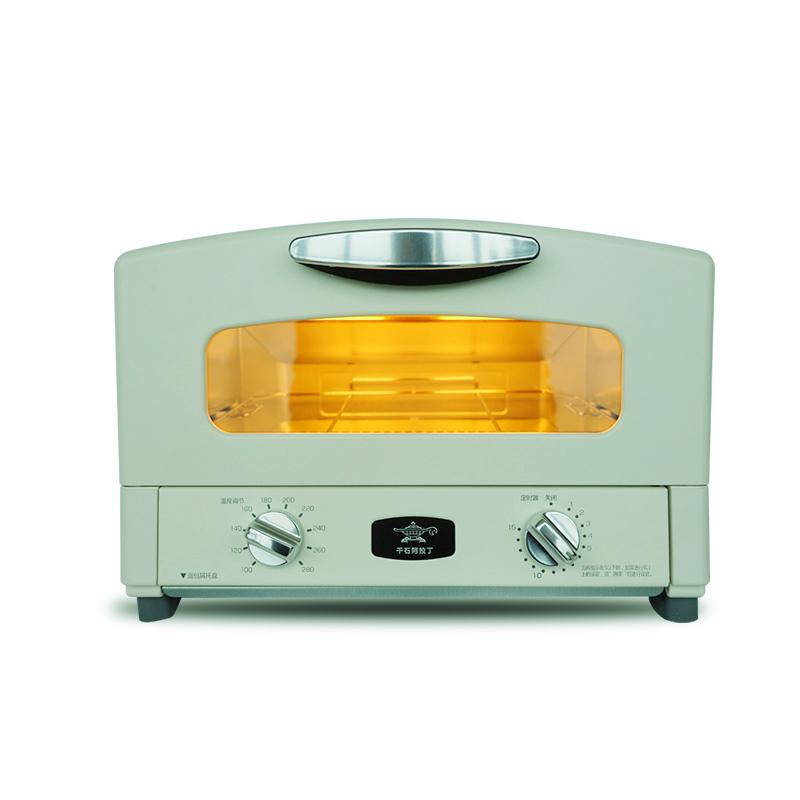 日本千石阿拉丁AET-G15CA蒸烤箱家用多功能电烤箱电蒸箱多士炉