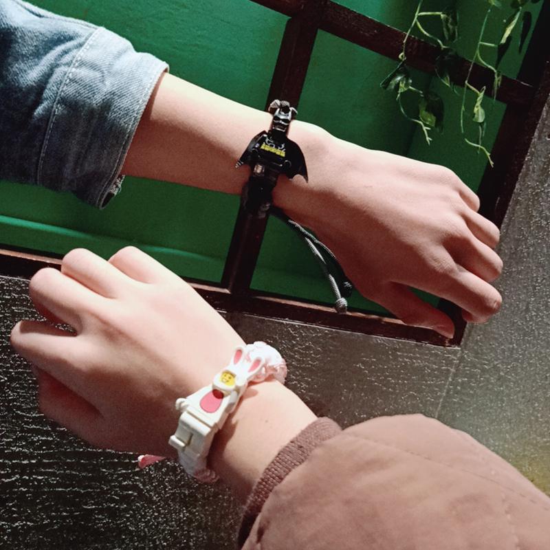 巴斯光年积木手链编织手环手绳学生男女生日礼物情侣手链饰品个姓