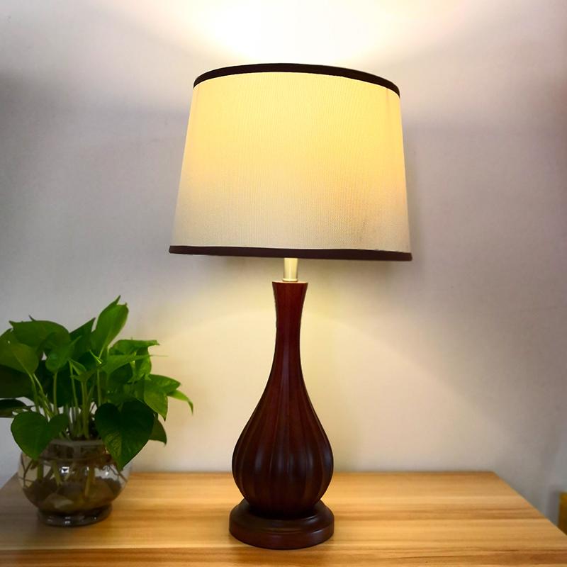 新中式现在美克林氏曲美联邦光明双叶宝宜家居简约欧美书客房台灯