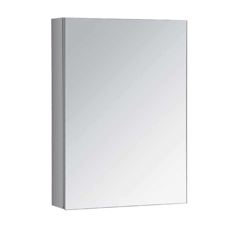 梦丝 不锈钢浴室镜柜 卫生间镜子带置物柜 正品304双层加厚储物柜