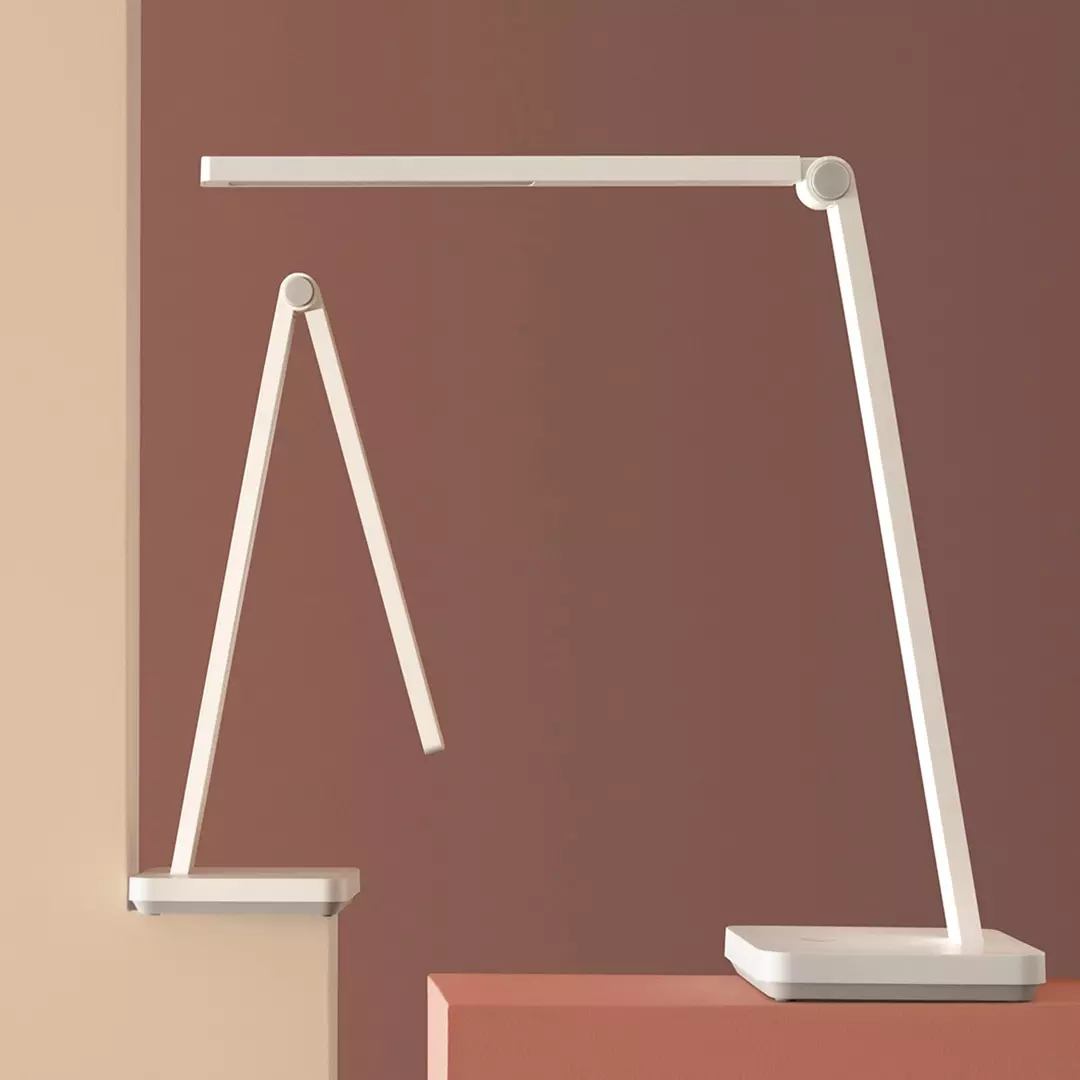米家台灯Lite小米台灯1S学习专用充电台灯LED护眼灯床头灯台灯Pro主图