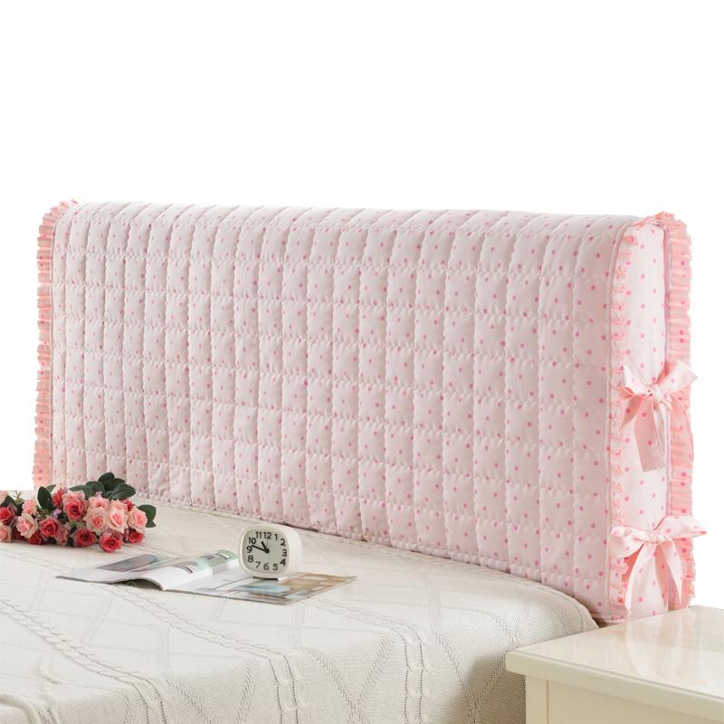 床头罩床靠背罩布艺床头套防尘罩1.2/1.5/1.8m米简约现代皮床软包