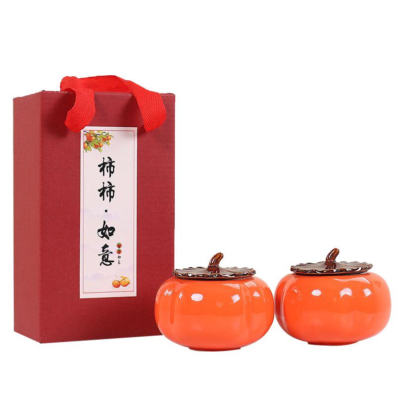吉祥话茶叶罐伴手礼  送长辈领导礼物推荐
