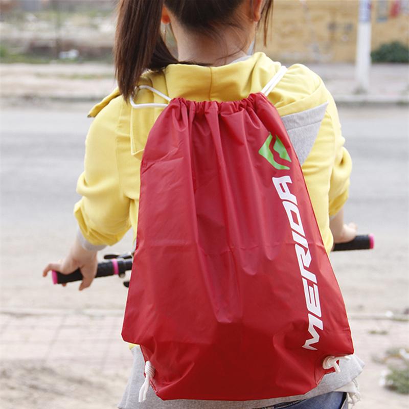 美利達運動背袋包束口袋抽繩雙肩包男女旅遊背袋學生環保袋收納包