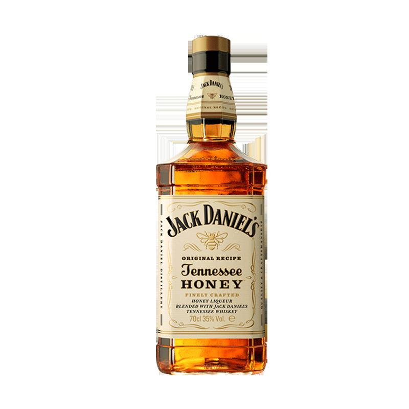 Jack Daniel's 杰克丹尼威士忌蜂蜜味力娇酒洋酒浪漫礼物700ml
