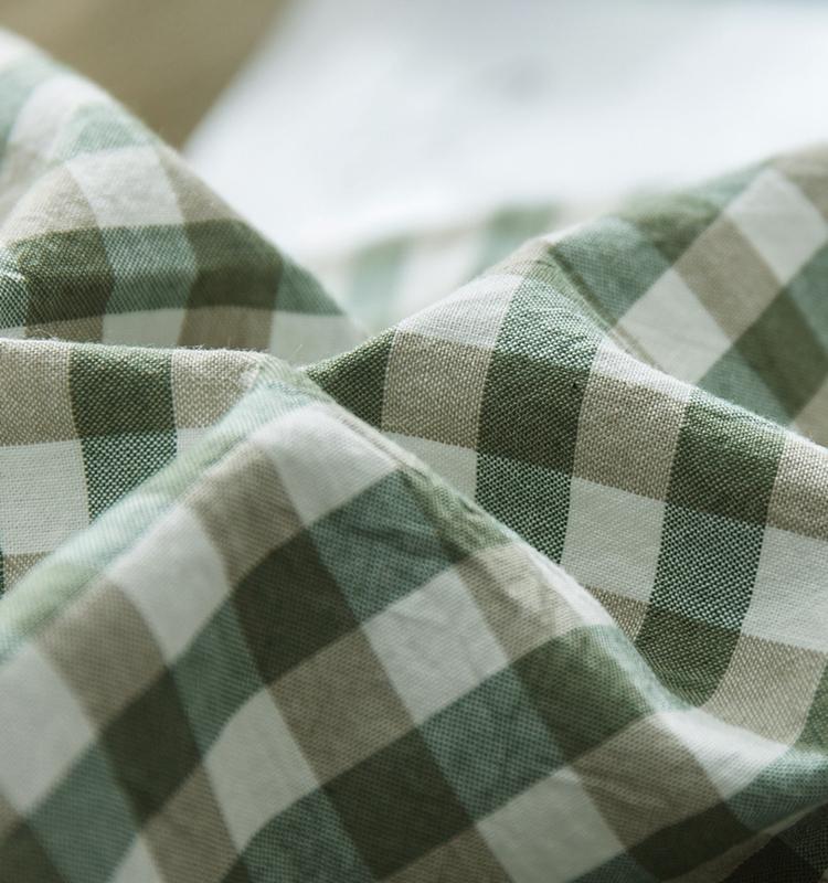 全棉单人双人 纯色简约 特价处理日系水洗棉床单床笠