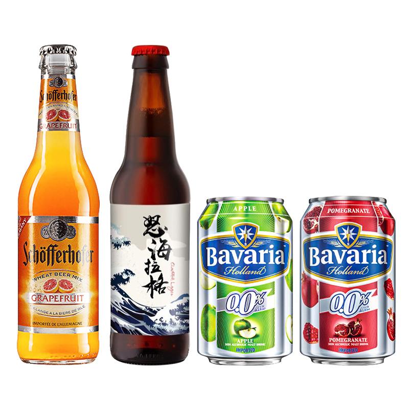 宝华力亚 Saigon 西贡 精酿啤酒 4瓶混合装