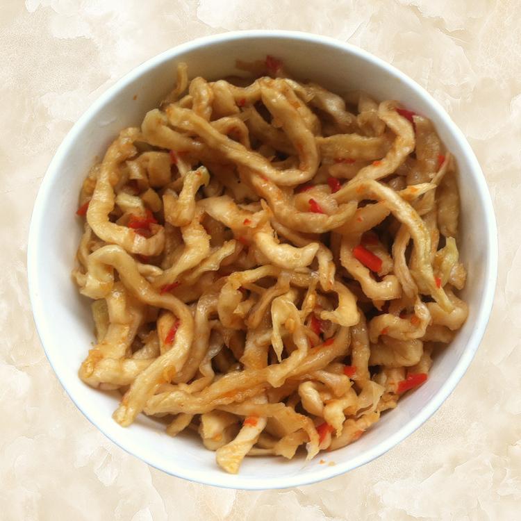 广西蒙山特产南三乡木瓜丝玻璃瓶装椒盐酱菜腌菜三件包邮