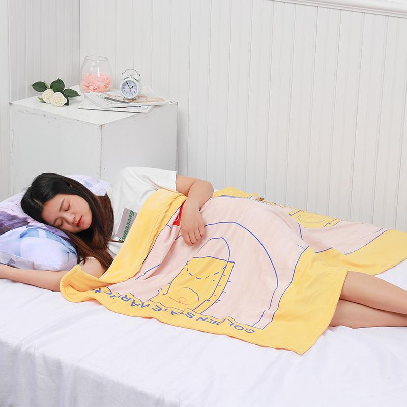 DIY来图定制NBA科比库里詹姆斯哈登单人宿舍床单被套三件套毛毯
