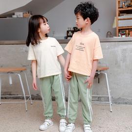 夏季新款儿童休闲防蚊裤女孩夏装薄款男童装女童灯笼长裤子小男孩