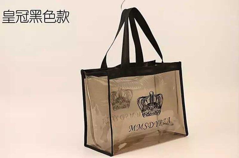 韩版浴包浴兜优质加厚PVC透明加大版防水洗浴包洗漱包游泳包防水