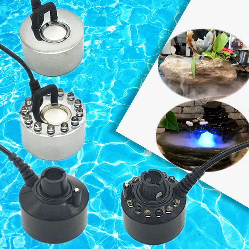 造霧器噴泉噴霧加濕器霧化器風水輪流水假山水景魚池擺設魚缸盆景
