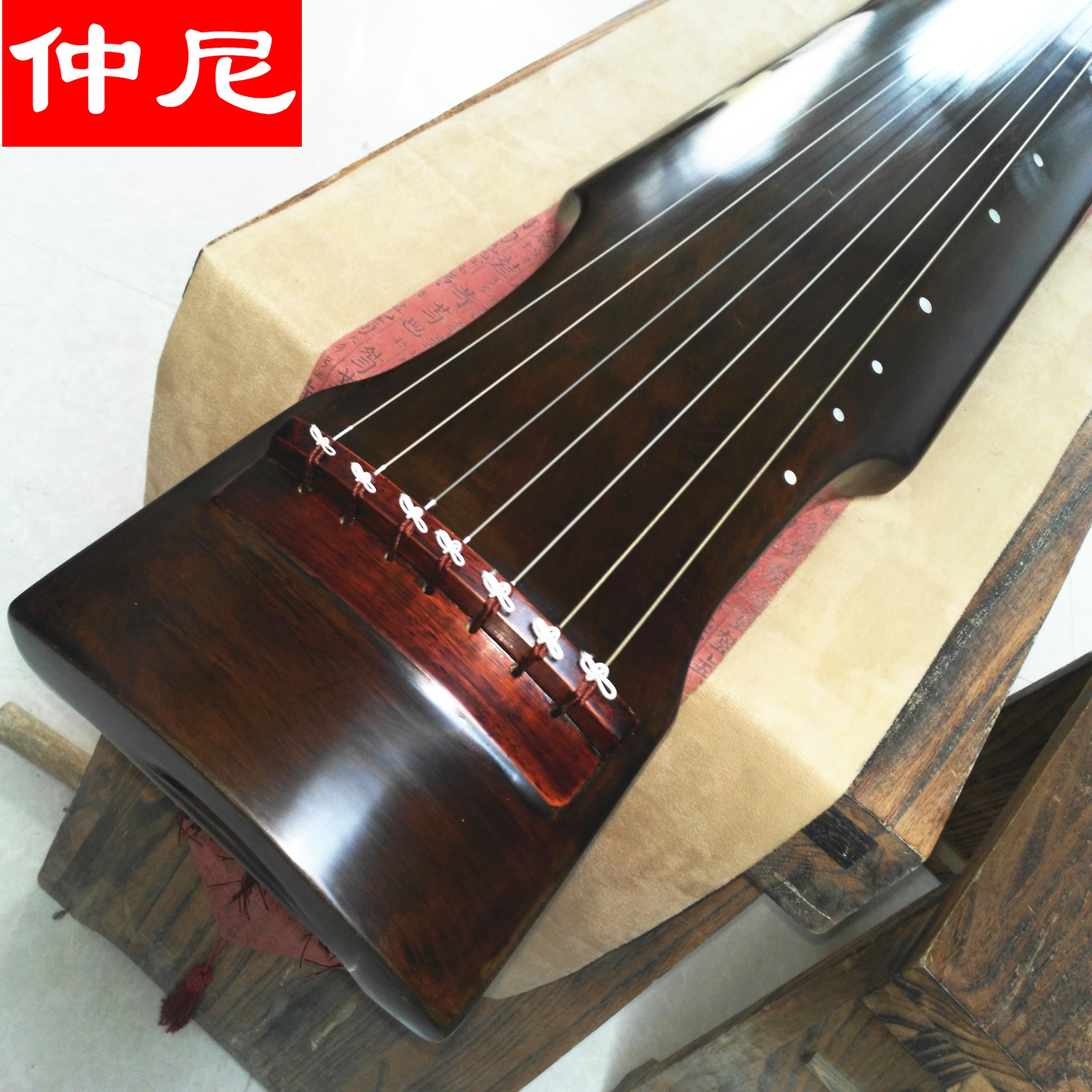 指法练习古琴瑕疵古琴特价 古琴摄影 七弦琴展示用琴 古琴道具
