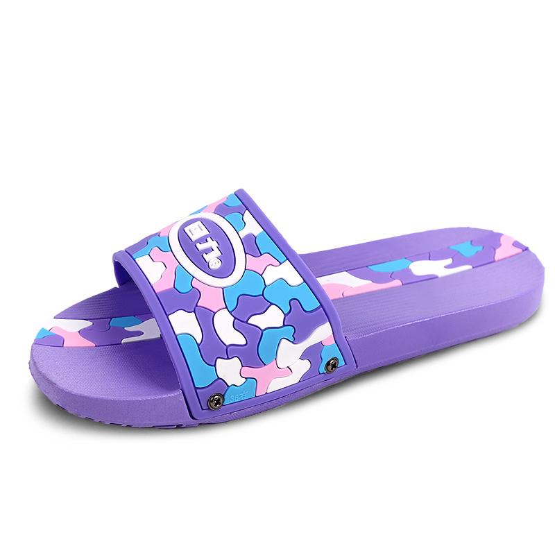回力拖鞋女夏季室内迷彩耐磨软底舒适家居家浴室洗澡防滑情侣拖鞋