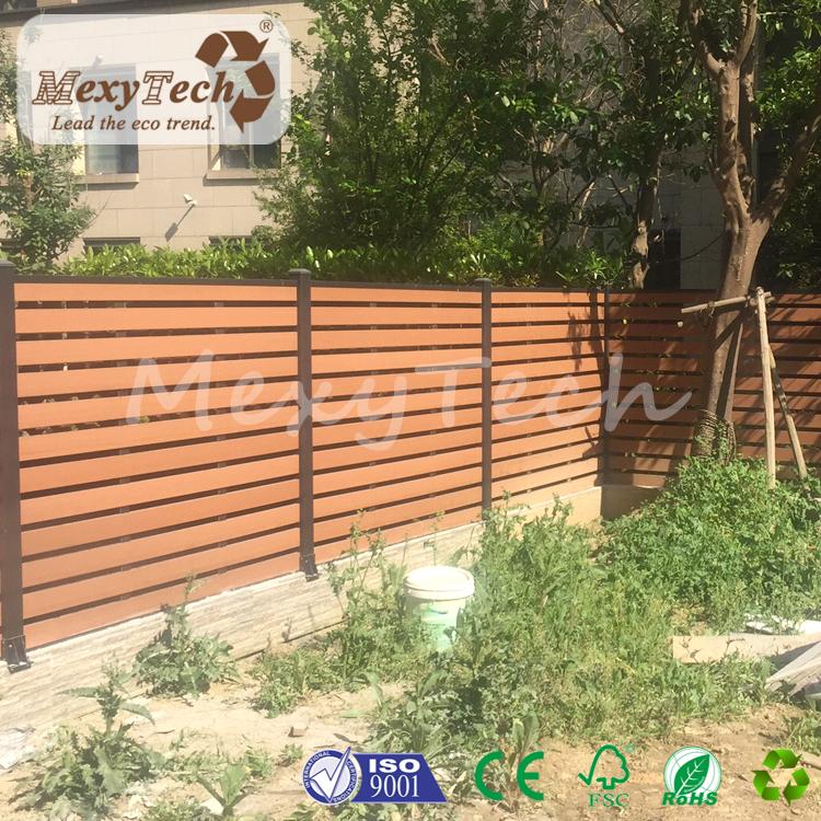 户外木塑围栏格栅 别墅阳台花园围栏 铝合金围栏 防水防晒
