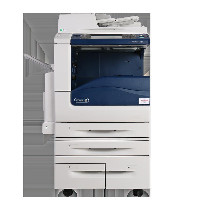 激光打印机 A3 打印复印扫描 7855 彩色复印机一体机 7835 C3375 施乐