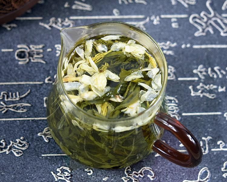 散装木桶礼盒装 500g 新茶茉莉花茶浓香型福建小龙珠茶叶碧螺春绿茶