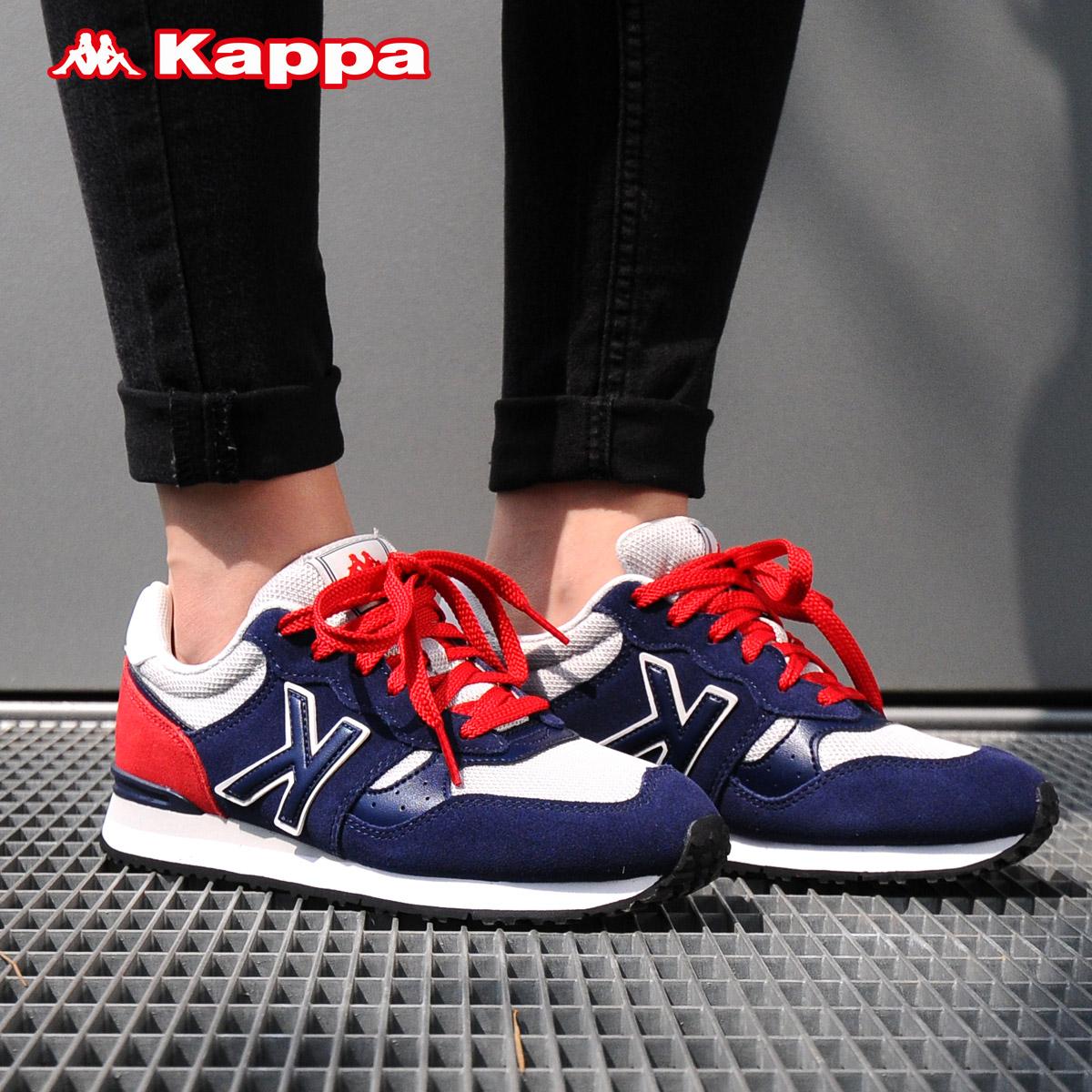 Kappa卡帕 情侶男女運動鞋休閒鞋復古跑步鞋網鞋 K0665MM51D