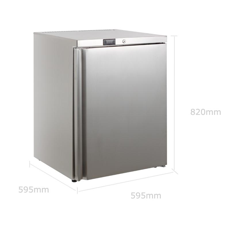 嵌入式冰吧 全冷冻家用厨房不锈钢 嵌入式冰箱 B1B HUS 哈士奇