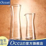 Ocean import lead-free glass decanter red wine white wine with pour mouth wine cooler cup set