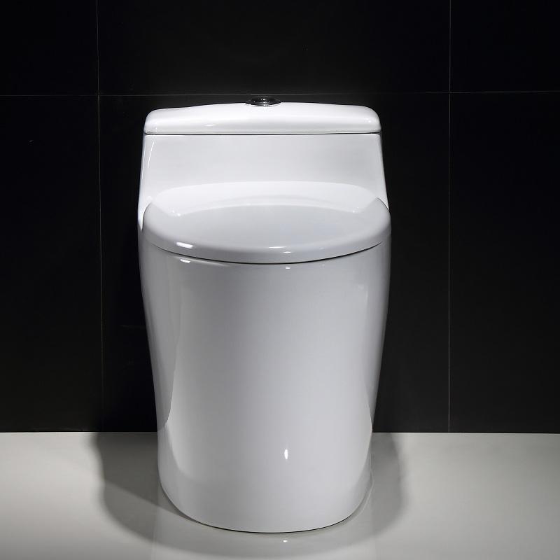 金佰冠马桶家用坐便器普通抽水创意防臭节水虹吸式陶瓷座便器坐厕