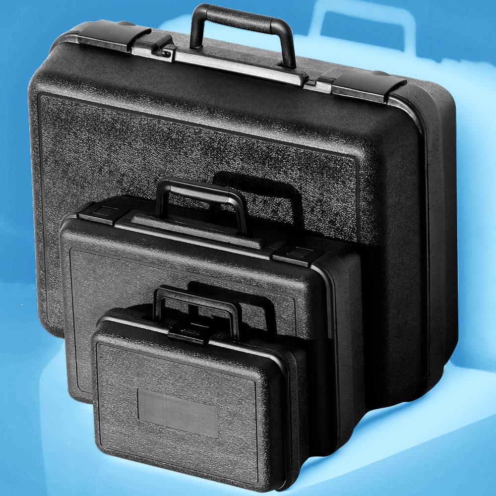 PE塑料箱五金工具包装手提箱仪器仪表设备黑色大箱子超强好优惠
