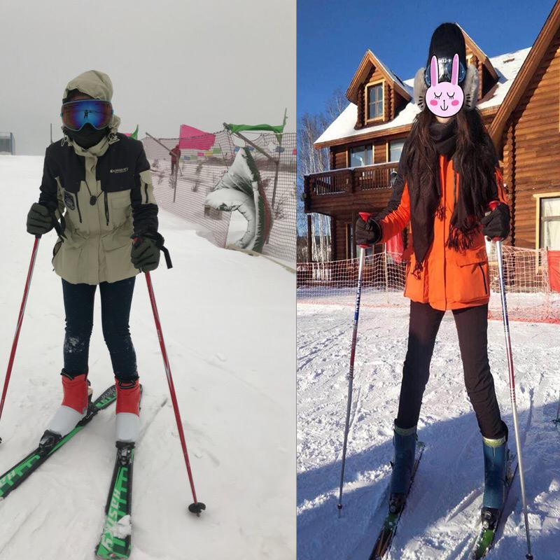 户外中长款冲锋衣女三合一两件套防风防水登山服男保暖滑雪服潮牌