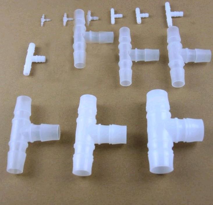三通接头塑料T型三通接头软管接头宝塔三通 4分 1.6/1.4/2.4/16