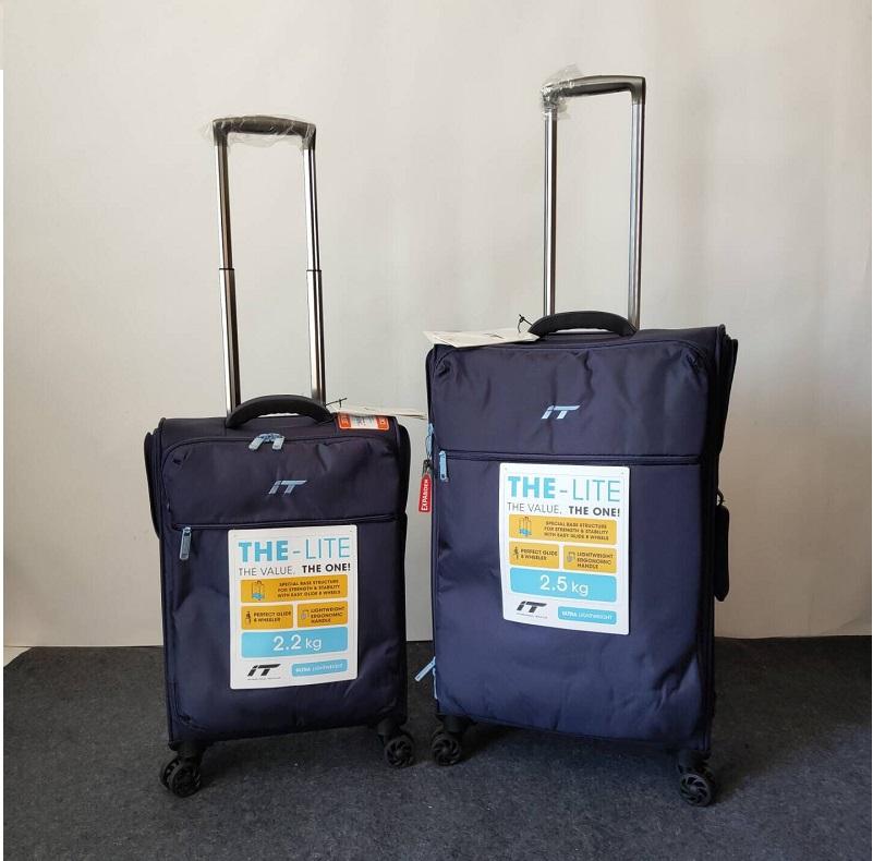 出口超轻牛津布防水大容量耐刮万向静音轮软包拉杆箱行李登机箱