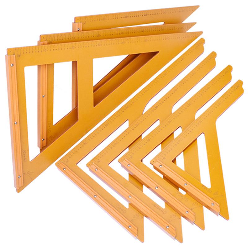 木工工具木工三角尺电木三角板90度直角靠尺拐尺两面刻字装修